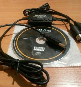 Roland UM-ONE MK2 USB-MIDI интерфейс