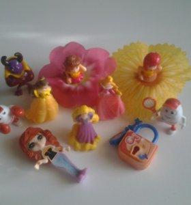 10 игрушек из киндера
