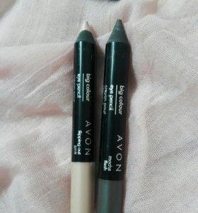 Тени-карандаш Avon б/у