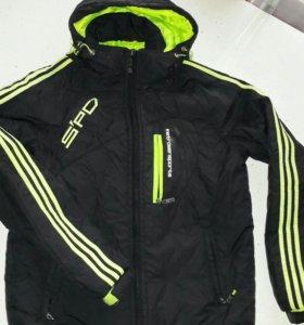 Куртка б/у 8-9лет.