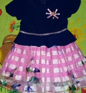 Платье 92-98 см