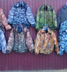 Мужские куртки, камуфляж