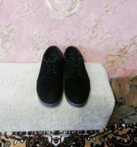 Туфли замшевые натуральные фирменные