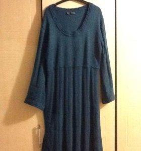 Платье теплое 52-54