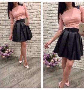 Новая юбка и топ
