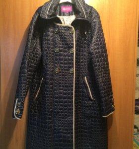 Пальто с ремнём