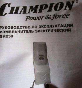 Измельчитель электрический веток