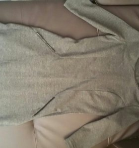 Платье серое 42-44