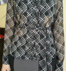 Шифоновая блузка новая