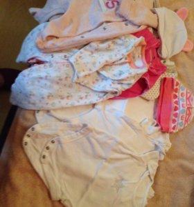 Комплект одежды для девочки 2-6 мес