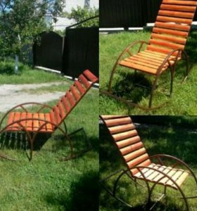 Кресло-качалка уличное