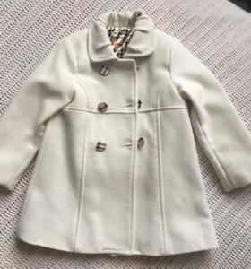 Пальто на девочку 3 года