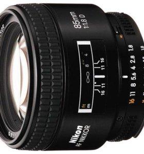 Nikon 85mm f1.8D