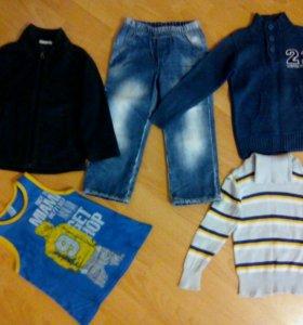 Пакет вещей 98-104см