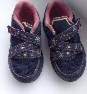 """Кроссовки для девочки """" Demix"""" 15 см, размер 24"""