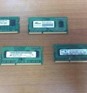 Оперативная память DDR3(1.2.4 Гб.)