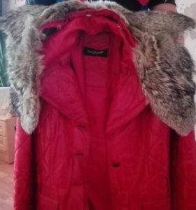 Продам кожаную куртку