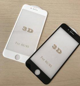 Защитные стекла для iPhone и Samsung