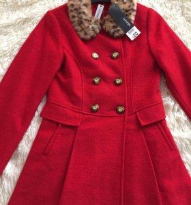 Пальто на девочку 12 лет