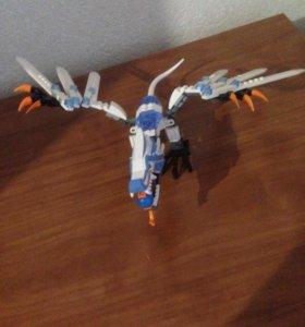 Лего дракон