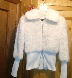 Куртка на подкладке из искуственного меха