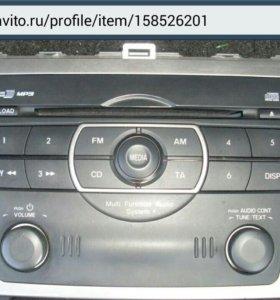 Авто-магнитола Мазда6 оригинал.