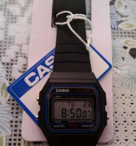 Часы CASIO F-91W-1DG