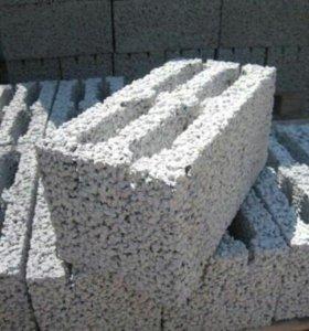 Керамзитобетонный блок М50 75