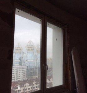 Окна, балконные блоки, алюминиевые рамы.