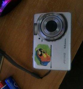 Фотокамера цифровая Olympus fe-190 is 3x HD 6.0 mp