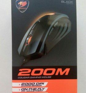 Новая Игровая мышь Cougar 200M Black