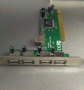 Плата USB портов