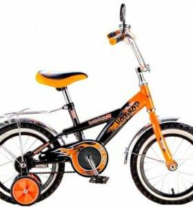 Велосипед Hot Rod оранжевый (12134(1206))