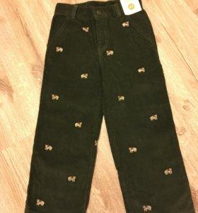 Вельветовые брюки новые