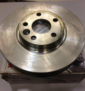 Мондео 4 диски тормозные передние