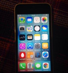 Продаю 2 телефона Apple 5c 16 gb Lte