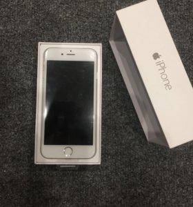 iPhone 6 16 GB Silver Белый
