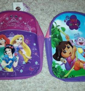 Рюкзаки для детей на 4-8лет