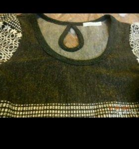 Платье шерстяное. S