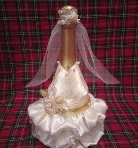Свадебное шампанское Mondoro и бокалы