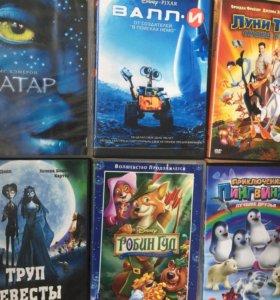 DVD фильмы,мультики