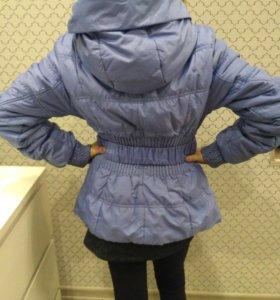 Куртка осень - весна девочка 9-10 лет