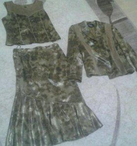 Костюм юбка