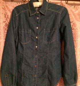 Джинсовая рубашка Terranova (S)