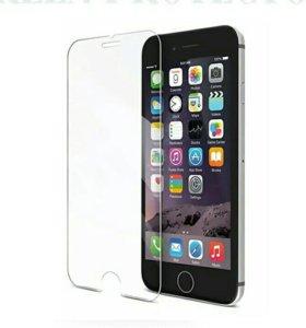 Стекла на iphone 5/5s/se, 6/6 plus, 7/7plus