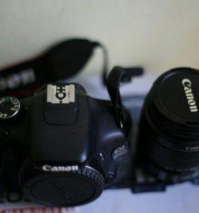 фотоаппарат CANON EOS 600D kit.