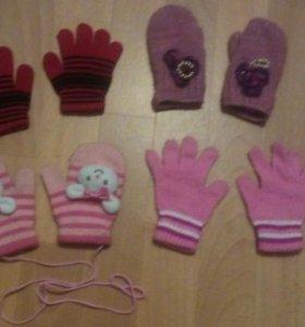 Перчатки и варежки - весна