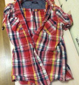Новая рубашка + футболка