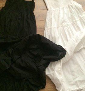 Три новые юбки-платья 40-46