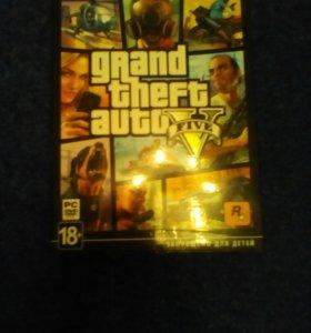 Диск с коллекционным изданием Grand Theft Auto 5